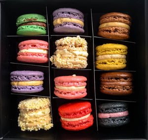 Box of 12 Assorted Macarons