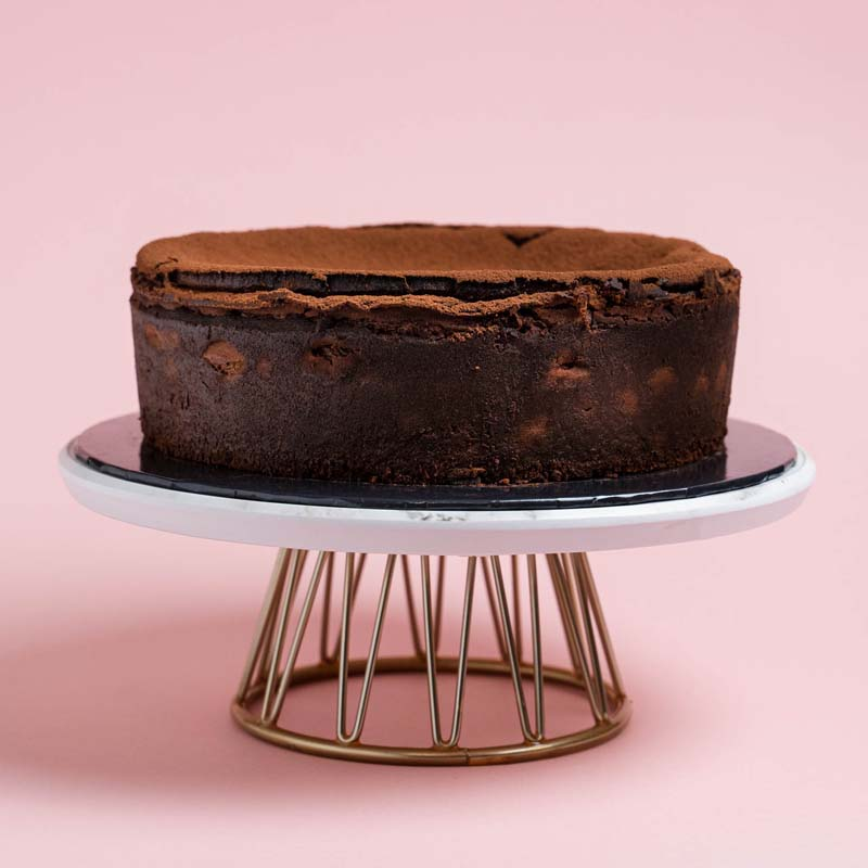 Chocolate Burnt Cheesecake 9 Inch (2kg)