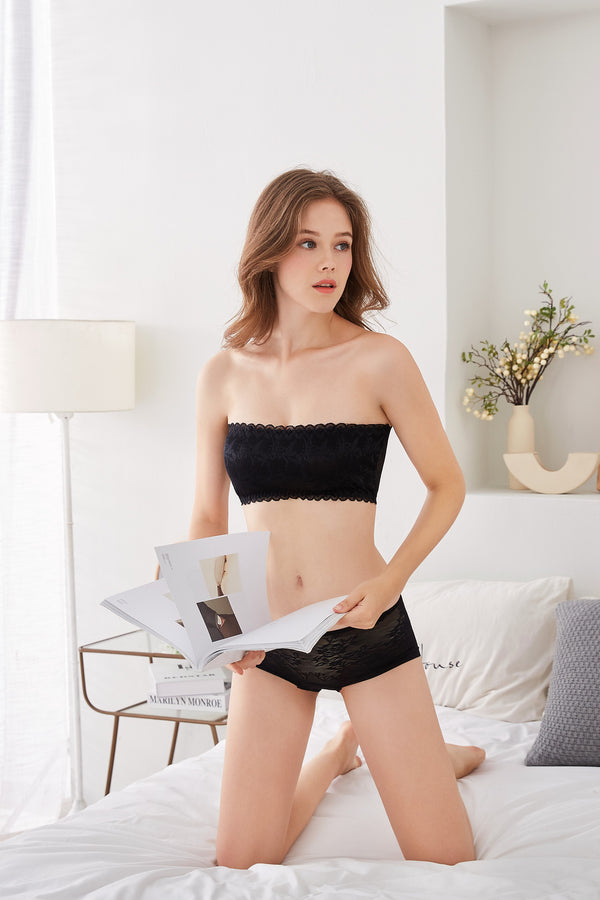 F&R Modal Smooth Lace Bandeau