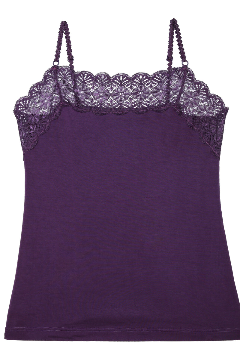 F&R Modal Scoop Neck Cami Top
