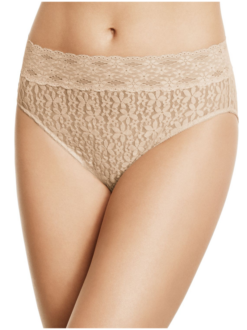 Wacoal Halo Lace Hi-Cut Brief (3 for $48)