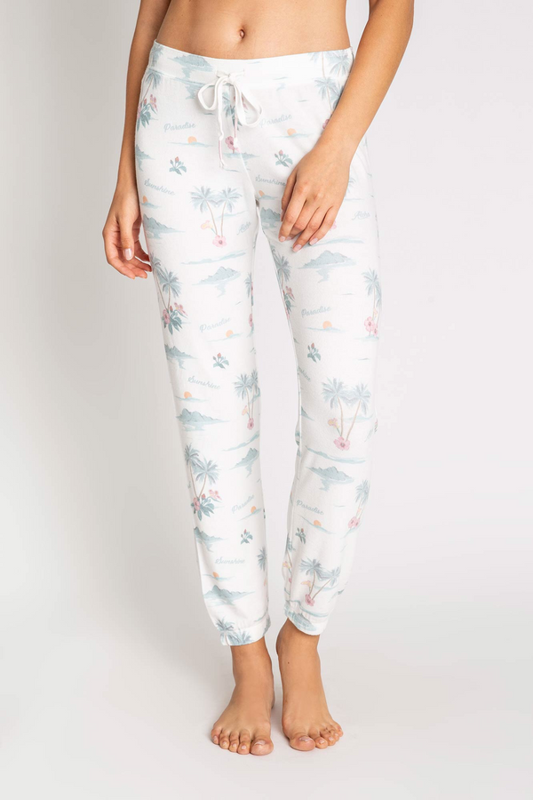 PJ Salvage PARADISE DREAMS BANDED PANT