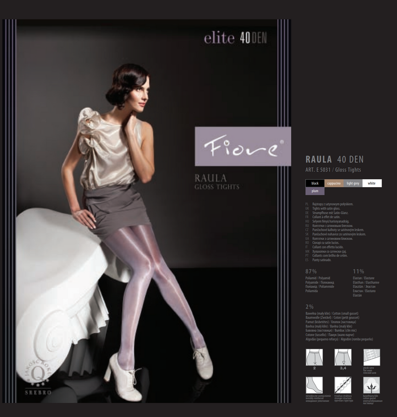 Fiore Elite E5031 Raula 40Den Gloss Tights