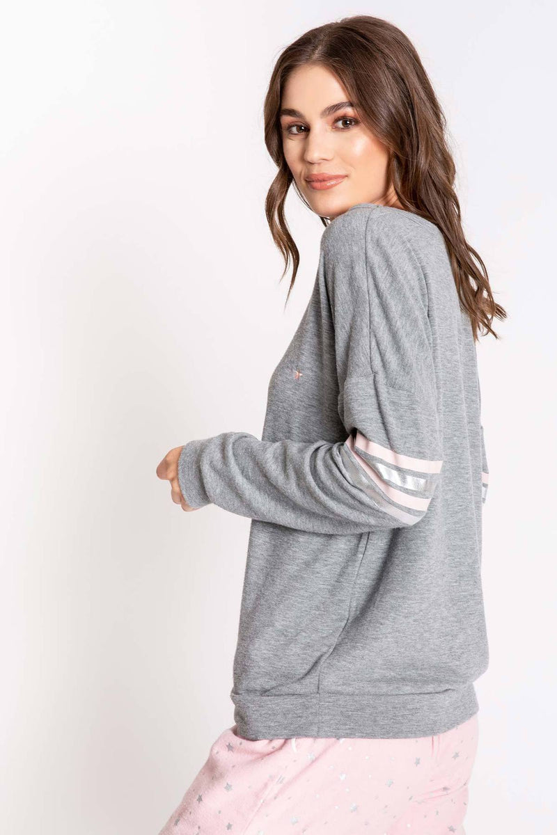 PJ SALVAGE CHELSEA SEPARATES LONG SLEEVE TOP