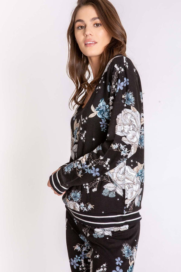 PJ Salvage TRACK STAR LONG SLEEVE TOP