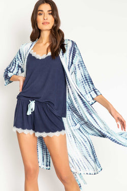 PJ SALVAGE MORNING SUNSHINE TIE DYE ROBE