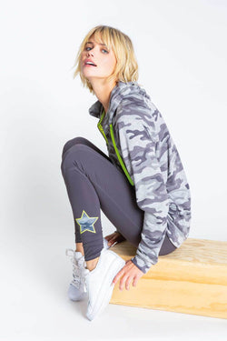 PJ SALVAGE NEON POP LEGGING