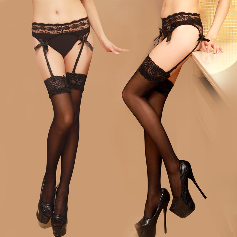 F&R After Midnight Sexy Hold-ups stocking Lingerie