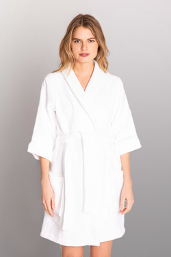 PJ SALVAGE Spa Day Embroidered Robe