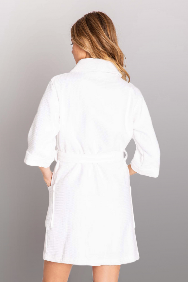 Spa Day Embroidered Robe