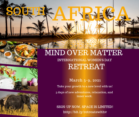 Mind Over Matter Retreat  (South Africa)