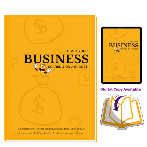 Start Your Business Scared & on a Budget Guide (Pre-Sale)