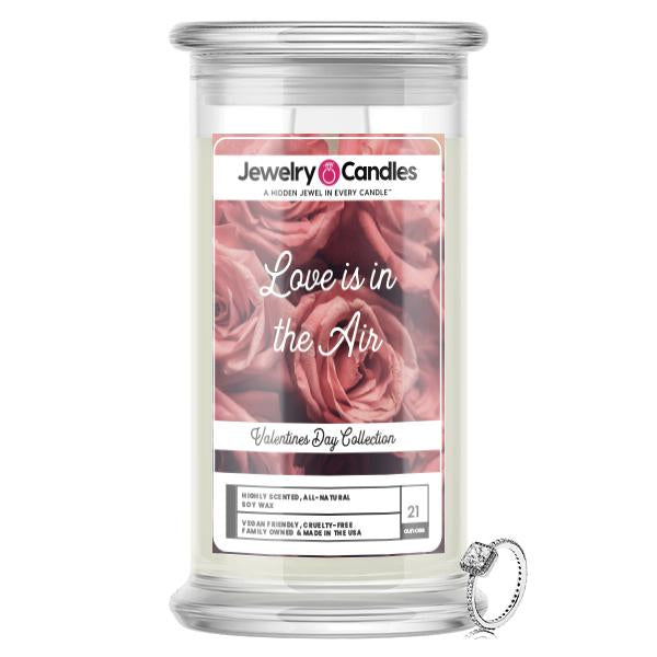 Love Is In The Air Jewelry Candle
