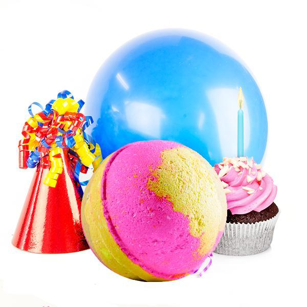 Birthday Cake | Single Toy Surprise Bath Bomb™?-Single Toy Bath Bomb-The Official Website of Jewelry Candles - Find Jewelry In Candles!