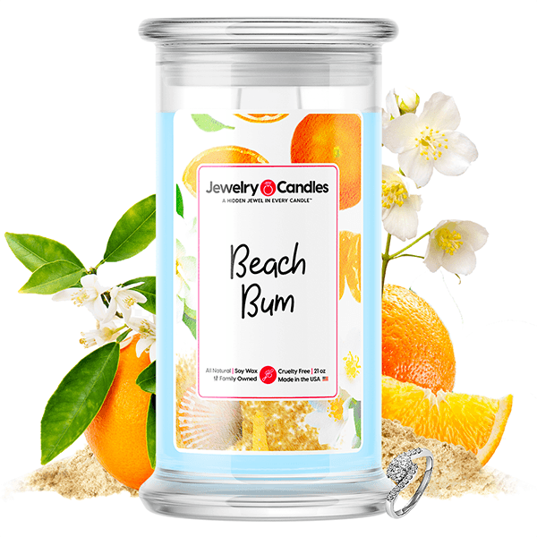 Beach Bum Jewelry Candle