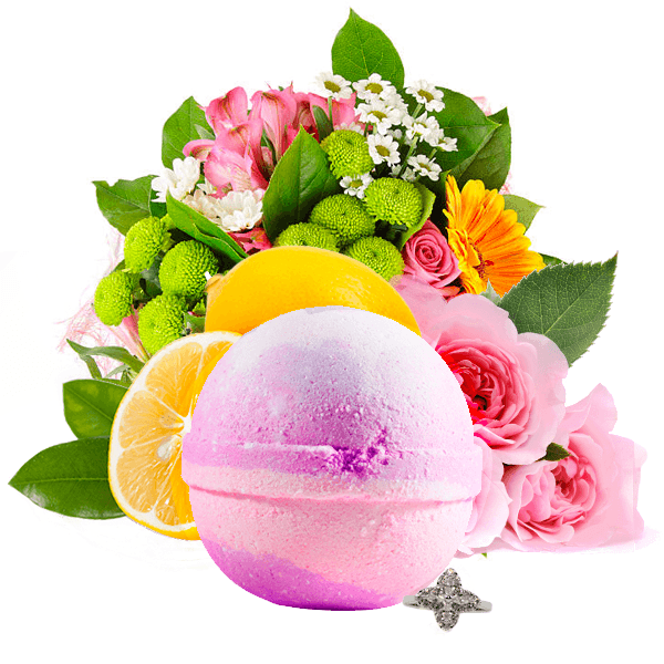 Bombshell | Single Jewelry Bath Bomb®-Jewelry Bath Bombs-The Official Website of Jewelry Candles - Find Jewelry In Candles!
