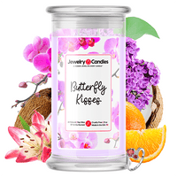 Butterfly Kisses Jewelry Candle