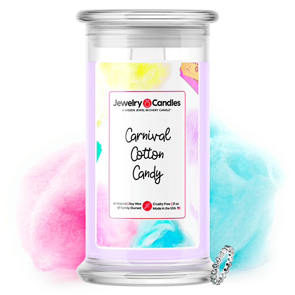 Carnival Cotton Candy Jewelry Candle