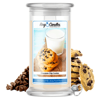 Chocolate Chip Cookies Ring Candle