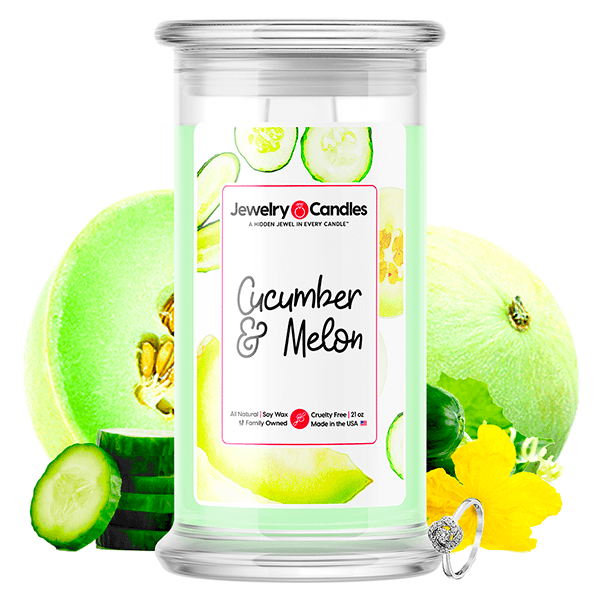 Cucumber & Melon Jewelry Candle