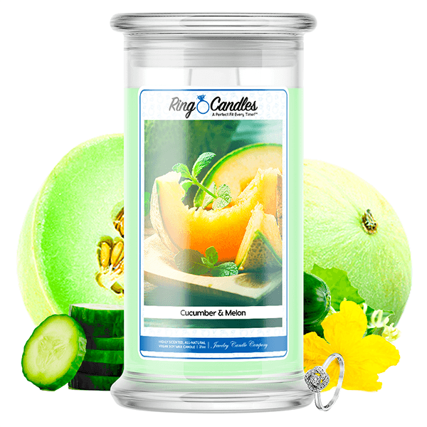 Cucumber & Melon Ring Candle