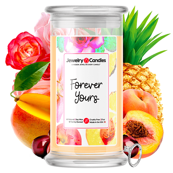 Forever Yours Jewelry Candle