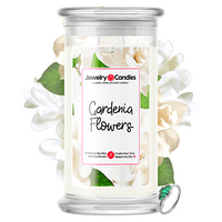 Gardenia Flowers Jewelry Candle