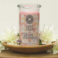 Keep Calm And Love Yourself - Keep Calm Candles-Keep Calm Candles-The Official Website of Jewelry Candles - Find Jewelry In Candles!