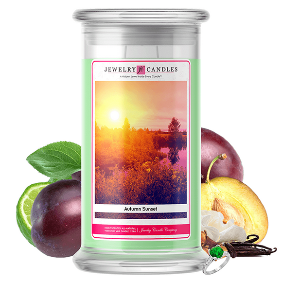 Autumn Sunset | Jewelry Candle®-Jewelry Candles®-The Official Website of Jewelry Candles - Find Jewelry In Candles!