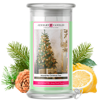Around the Christmas Tree | Jewelry Candle®-Jewelry Candles®-The Official Website of Jewelry Candles - Find Jewelry In Candles!