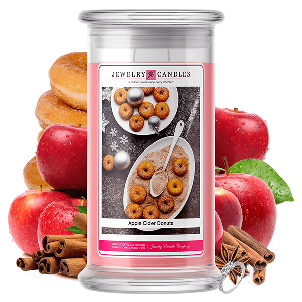 Apple Cider Donuts | Jewelry Candle®-Jewelry Candles®-The Official Website of Jewelry Candles - Find Jewelry In Candles!