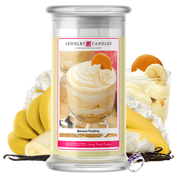 Banana Pudding | Jewelry Candle®-Jewelry Candles®-The Official Website of Jewelry Candles - Find Jewelry In Candles!