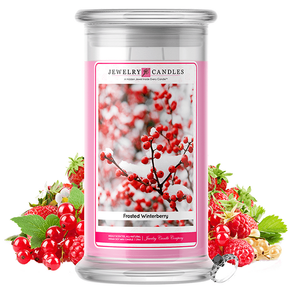 Frosted Winterberry | Jewelry Candle®-Jewelry Candles®-The Official Website of Jewelry Candles - Find Jewelry In Candles!