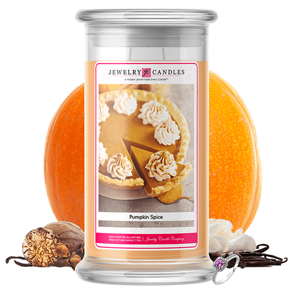 Pumpkin Spice | Jewelry Candle®-Jewelry Candles®-The Official Website of Jewelry Candles - Find Jewelry In Candles!