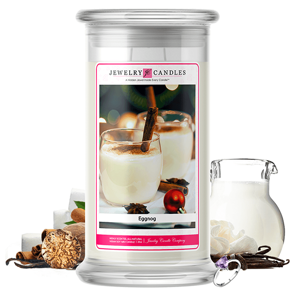 Eggnog | Jewelry Candle®-Jewelry Candles®-The Official Website of Jewelry Candles - Find Jewelry In Candles!
