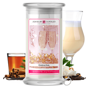 Christmas Party | Jewelry Candle®-Jewelry Candles®-The Official Website of Jewelry Candles - Find Jewelry In Candles!
