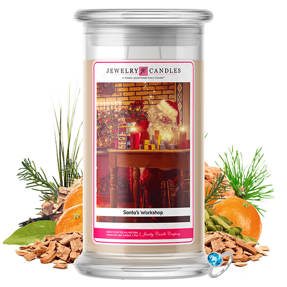 Santa's Workshop | Jewelry Candle®-Jewelry Candles®-The Official Website of Jewelry Candles - Find Jewelry In Candles!