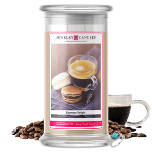 Espresso Delight | Jewelry Candle®-Jewelry Candles®-The Official Website of Jewelry Candles - Find Jewelry In Candles!