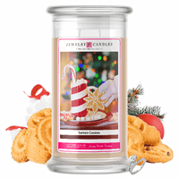 Santa's Cookies | Jewelry Candle®-Jewelry Candles®-The Official Website of Jewelry Candles - Find Jewelry In Candles!