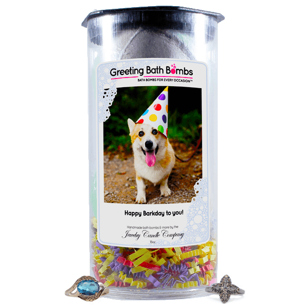 Happy Barkday To You! | Greeting Bath Bombs®-Jewelry Bath Bombs-The Official Website of Jewelry Candles - Find Jewelry In Candles!