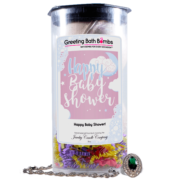 Happy Baby Shower! | Greeting Bath Bombs®-Jewelry Bath Bombs-The Official Website of Jewelry Candles - Find Jewelry In Candles!