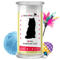 I Love My American Curl | Must Love Cats® Candle-Must Love Cats® Candle-The Official Website of Jewelry Candles - Find Jewelry In Candles!