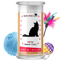 I Love My Maine Coon | Must Love Cats® Candle-Must Love Cats® Candle-The Official Website of Jewelry Candles - Find Jewelry In Candles!