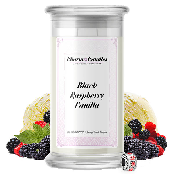 Black Raspberry Vanilla | Charm Candle™?-Charm Candles™?-The Official Website of Jewelry Candles - Find Jewelry In Candles!