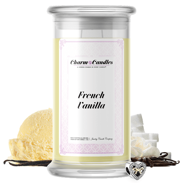 French Vanilla | Charm Candle™?-Charm Candles™?-The Official Website of Jewelry Candles - Find Jewelry In Candles!