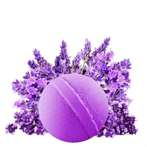 Lavender | Single Bath Bomb®-Single Bath Bomb-The Official Website of Jewelry Candles - Find Jewelry In Candles!
