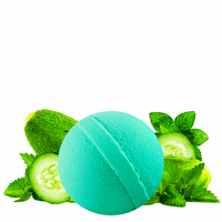 Cucumber Mint | Single Bath Bomb®-Single Bath Bomb-The Official Website of Jewelry Candles - Find Jewelry In Candles!