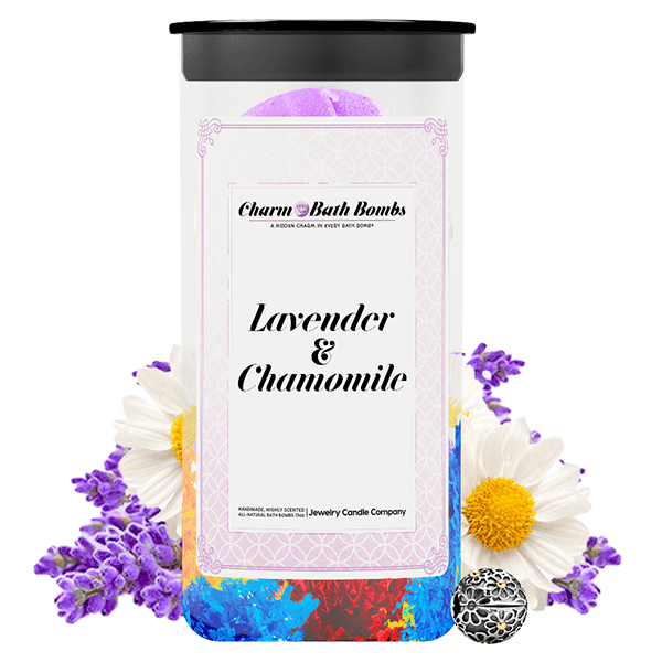 Lavender & Chamomile Charm Bath Bombs Twin Pack