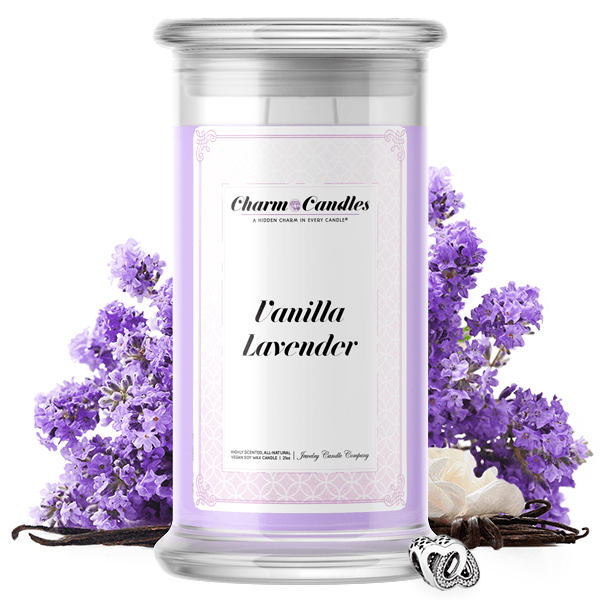 Vanilla Lavender | Charm Candle™?-Charm Candles™?-The Official Website of Jewelry Candles - Find Jewelry In Candles!