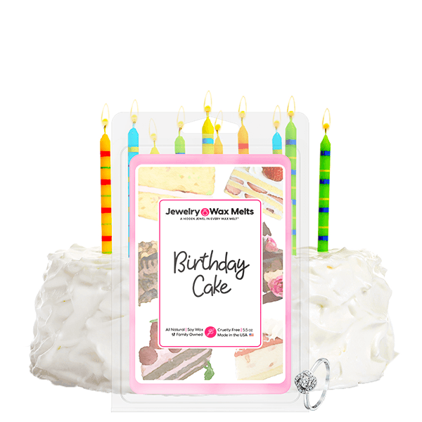 Birthday Cake Jewelry Wax Melt
